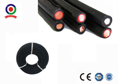 Halogen Free Twin Core Solar Cable , Dual Wall Insulation 4mm Twin Core Wire